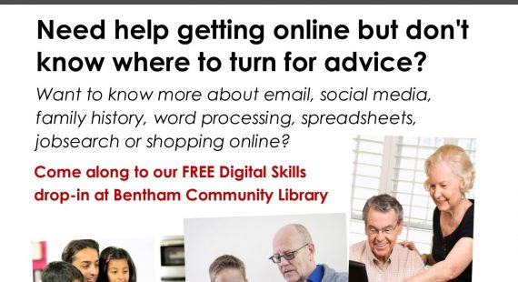 Free Monthly Digital Skills Drop-In