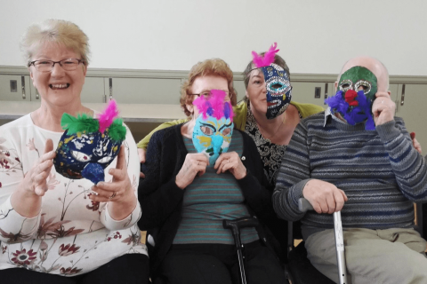 A Life Less Lonely – Making Art Groups for those living with a Dementia