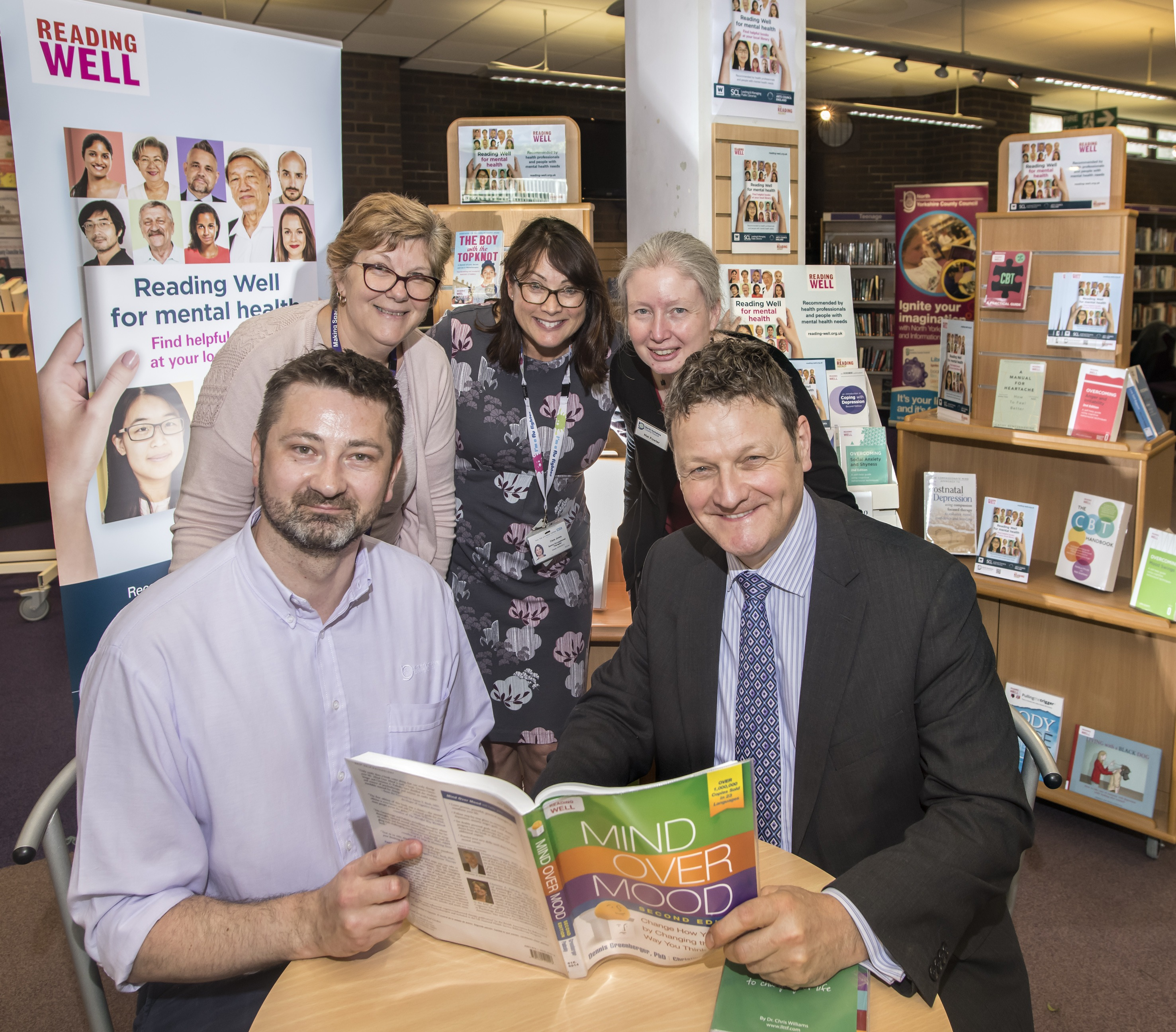 New Reading Well collection for mental health launched