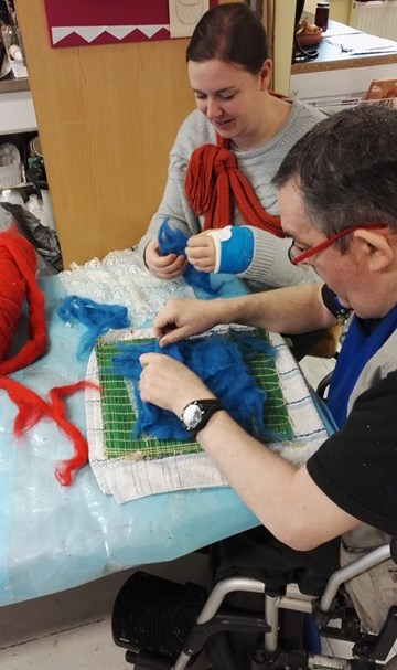 Dementia Friendly Creative Groups and Community Lunch