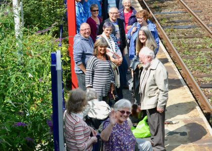 Summer Rail Trip to Morecambe for those living with a Dementia and their Carers