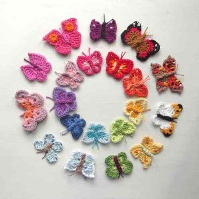 Butterflies at Yarndale Festival Skipton